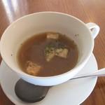 エスプリ・ド・ビゴ - ランチのスープ