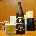 胡座 - ビールは瓶と生が選べます