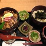 薩摩うどん - おい丼と小うどん