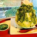 おづKyoto -maison du sake- - かき氷:松