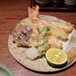 黄桜酒場 - ズワイガニの天麩羅
