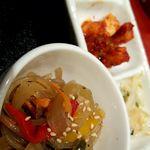 75431666 - チャプチェ ナムル カクテキ 焼き豆腐