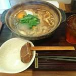 岡崎 二橋 - 八丁味噌 親子味噌煮込みうどん 1,800円