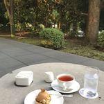 ホテルオークラ ガーデンテラス - 気持ちの良いテラス席
