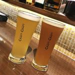 ビストロ酒場 クラフト×クラフト - ヴァイツェン / 家康B(各780円)