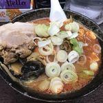 元祖旨辛系タンメン 荒木屋 - 「五目麻婆麺」(850円)+「チャーシュー」(100円)