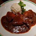 黄桜酒場 - 牛肉の地ビール煮