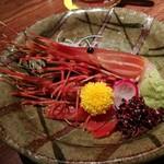 黄桜酒場 - ボタンエビ