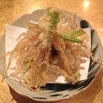 松 - せりの根の天ぷら