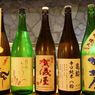 「日替り日本酒」