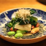 高太郎 - 料理写真:お通し おひたし