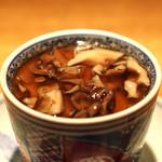 高太郎 - 栗と舞茸の茶碗蒸し