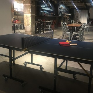 店内で卓球も楽しめます!