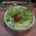 サリーカレー - セットサラダ