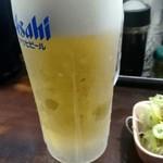 らーめん 潤 - 生ビール