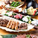 炭焼菜彩干物飯 紀州のしずく - 紀州の誉コースは3700(税別)円 ※画像は4人前