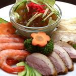香港風中華料理 好再来 - 前菜4種盛り
