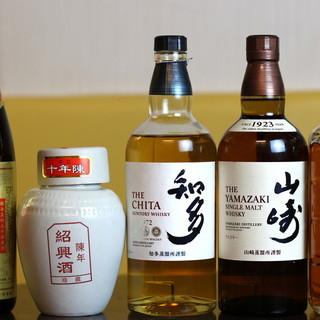 中華と言えば…【紹興酒】♪充実の美酒盛りだくさん◎