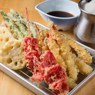 寿司・天ぷらも自慢も一品!
