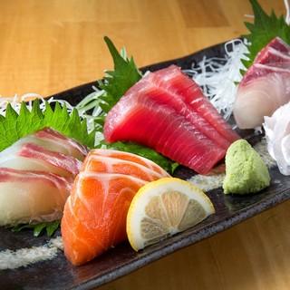新鮮な魚の数々!!