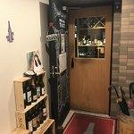ワインアンドグリル タクト - 店の入り口