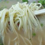 辰龍軒 - 「らーめん」ストレートの中細麺