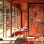 カフェ清閑亭 - 縁側をカフェに・・・