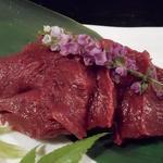 山里 - 馬刺しの赤身