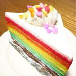パティスリー・アン・ガトー - 料理写真:レインボーケーキ