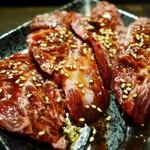 焼肉・ホルモン福川 - 特上ハラミ ¥1,500