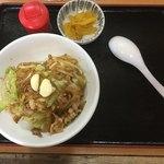 六文亭 - スタミナ丼