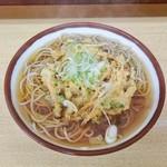 そばの神田 - 料理写真:野菜かき揚げそば 370円