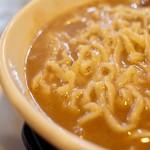 二代目 白神 - 麺は「手もみ極太麺」コール