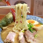 75453616 - 20171027特製中華そば・麺リフト