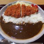 とんかつ 鉄 - かつカレー(1200円)