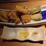 おかととき - 三河地鶏天婦羅と京都麩天婦羅