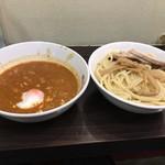 純情屋 - 担担つけ麺大盛り1130円(税込)