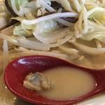 波平食堂 - 白いちゃんぽん