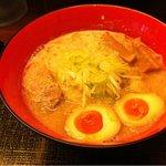 麺匠 竹虎 - 裏竹虎ラーメン(¥900)