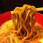 麺匠 竹虎 - 麺アップ