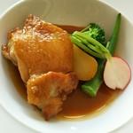フレンチレストラン Nature - 鶏もも肉のフリカッセ