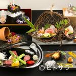 杜若 - 『杜若コース 1万円』は季節の味覚を存分に味わえる