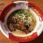 ふくやラーメン - 「厚切り炭火焼きチャーシュー豚骨」500円(大つけ麺博 大感謝祭)