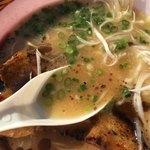 ふくやラーメン - 豚骨スープ(大つけ麺博 大感謝祭)