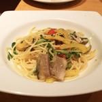 ターナ フォルノ - ☆秋刀魚のパスタ 1300円