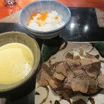 不風流 - トリュフがけ和牛すき焼 京都米の釜焚き白米