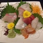 75464572 - 活魚お造り盛り合わせ(コース)