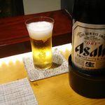 75464590 - 中瓶ビール 2017年10月