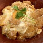 75464663 - 至福のカツ丼(玉子のせ)
