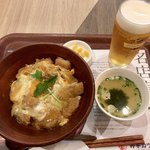 75464674 - 至福のカツ丼(玉子のせ)